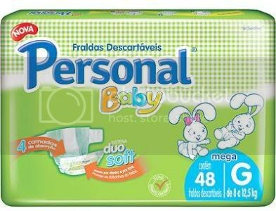 Fraldas Descartveis Personal Baby